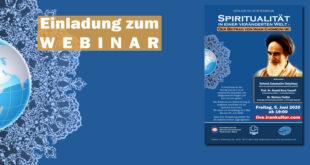Webinar: Spiritualität in einer veränderten Welt |Der Beitrag von Imam Chomeini (r)