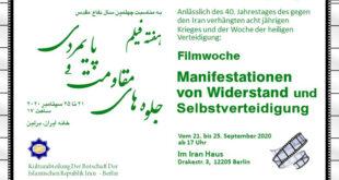 Filmwoche: Manifestationen von Widerstand und Selbstverteidigung