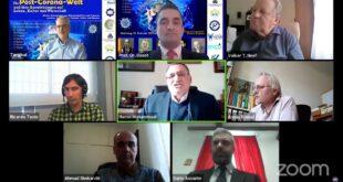 Post-Corona-Konferenz: Die menschliche Lebensweise wird nicht wieder so sein wie vor Corona