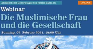 Webinar: Die Muslimische Frau und die Gesellschaft | 07. Februar 2021