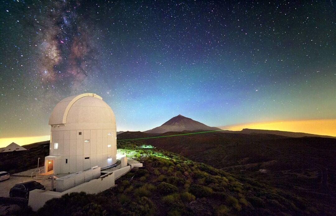 Iran gehört zu den Top 10 der Teleskopherstellern der Welt