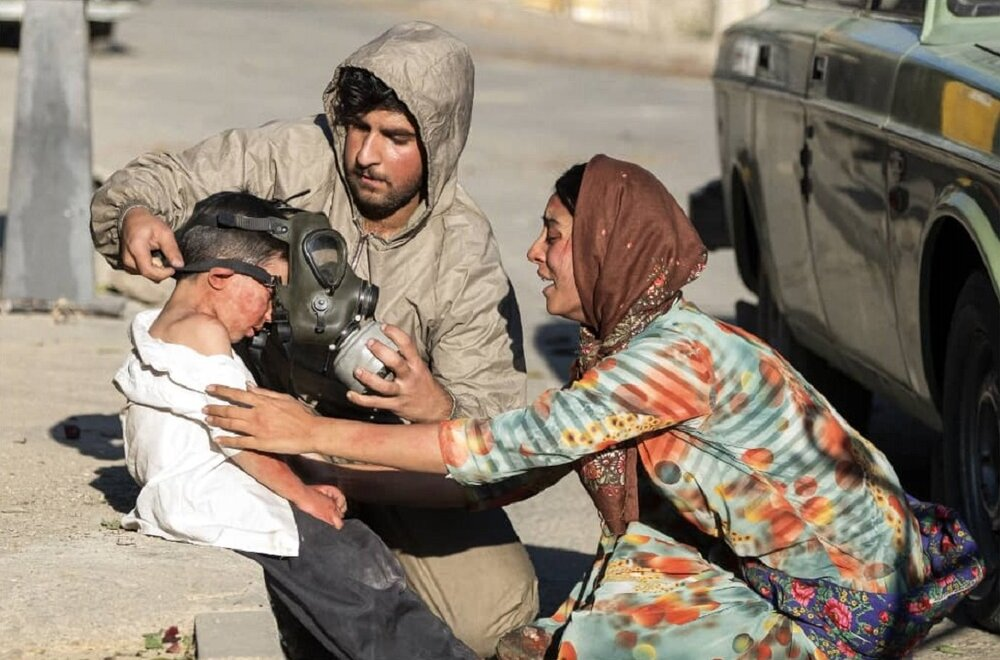 34. Jahrestag des Giftgasangriffes auf Zivilisten in Sardasht-Iran