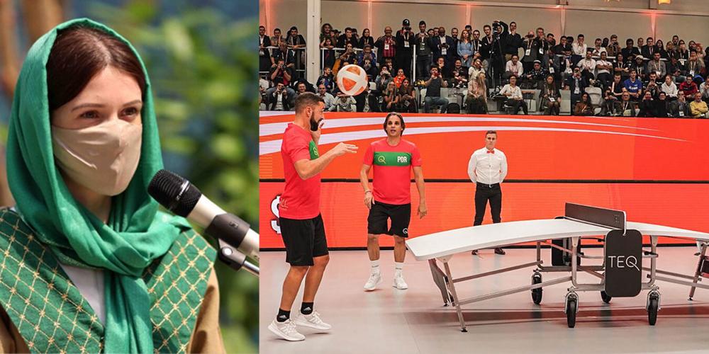 TEQBALL-Sportart im Iran