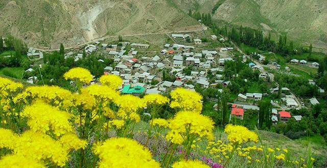 Yusch; ein Dorf in der Provinz Mazandaran
