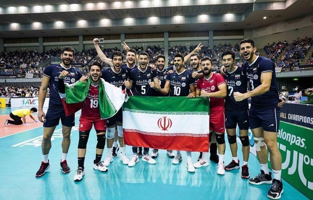 Iran ist Asienmeister in Volleyball