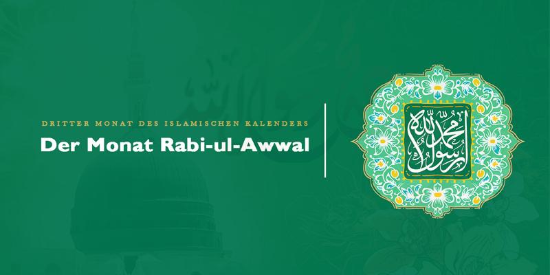 Der Monat Rabi-ul-Awwal
