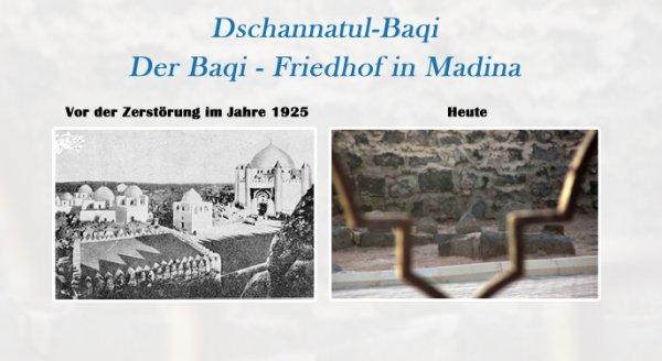 Die Dekonstruktion der Geschichte | Raum, Identität und Ǧannat al-Baqīʿ