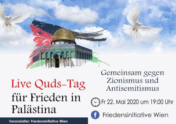 Live Quds-Tag Wien | 22.05.2020