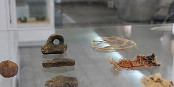 Historische Relikte des Salzbergwerks Chehrabad werden in Deutschland zur Schau gestellt