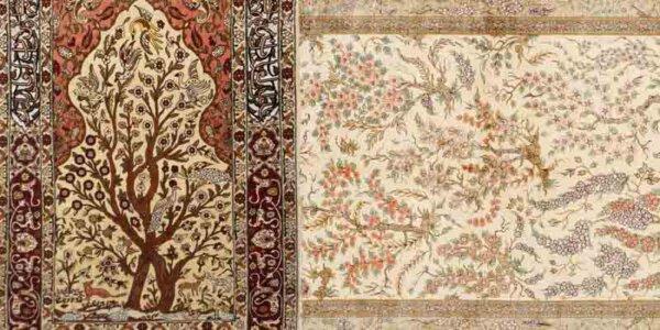 Iranische Teppichmuster