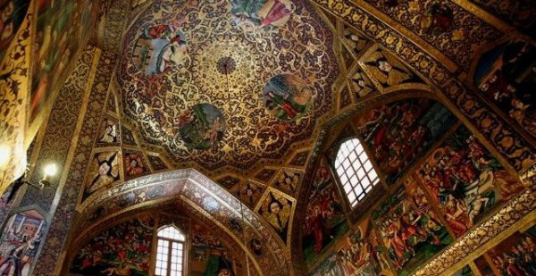 Die Bedchem-Kirche; eine armenisch-apostolische Kirche in Isfahan