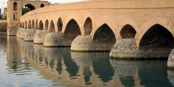 Die Pol-e Schahrestan Brücke
