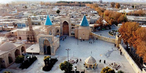 Bastam in der Provinz West-Aserbaidschan