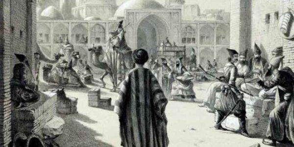 Historische Karawansereien im Iran