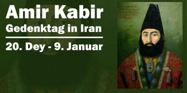 Amir Kabir Gedenktag in Iran